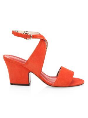 Sheena Wraparound Suede Sandals
