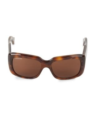 BB0072S-002 56MM Square Sunglasses