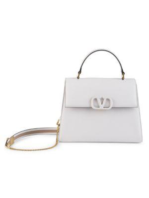 Valentino Garavani VSling Leather Top Handle Bag