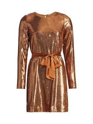 Hallie Sequin Mini Dress