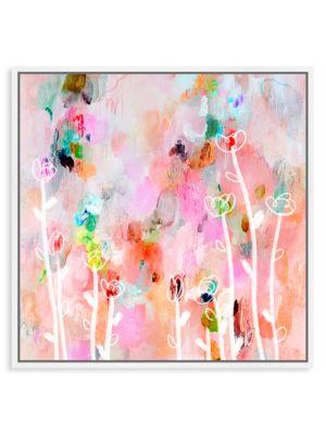 Aurora Flowers Framed Art
