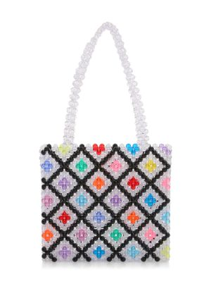 Seltzer Beaded Tote