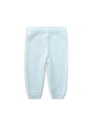 Baby Boy's Textured Cotton Pants