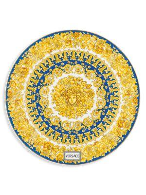 Medusa Rhapsody Porcelain Service Plate