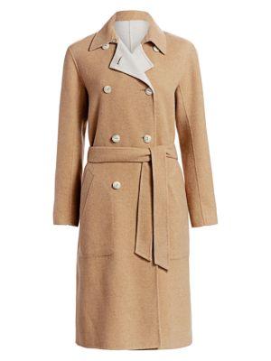 Rach Wool Blend Reversible Coat