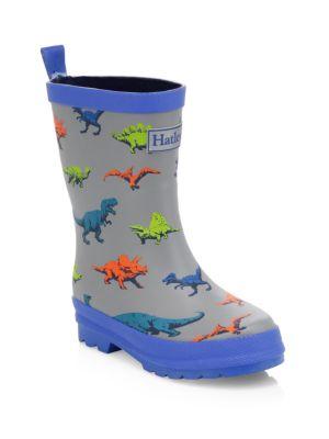 Baby's, Little Boy's & Boy's Wild Dinos Rain Boots