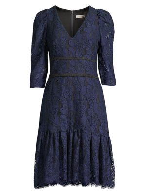 Miran Paisley Lace Dress