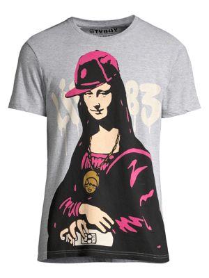Lisa Graffiti Graphic T-Shirt