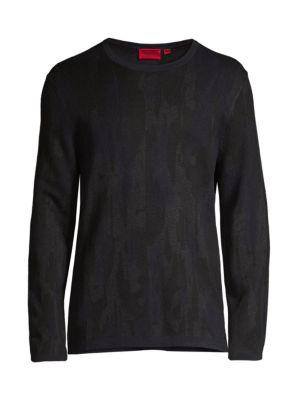 Sarmino Camo Print Sweater
