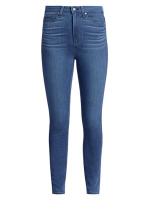 Margot High-Rise Cropped Ultra Skinny Jeans