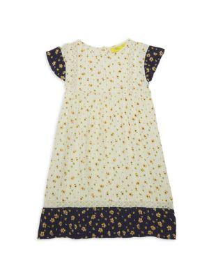 Little Girl's & Girl's Anastasia Floral Peasant Dress
