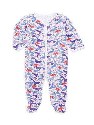 Baby Girl's Selkie Pima Cotton Footie Pajamas