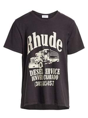 Oversized Boxy-Fit Diesel Service Tee
