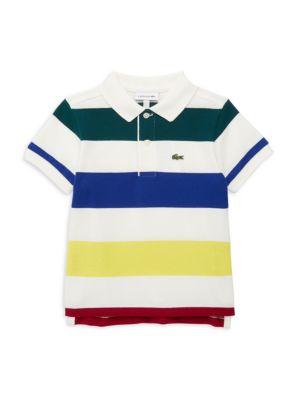 Baby's, Little Boy's & Boy's Stripe Polo