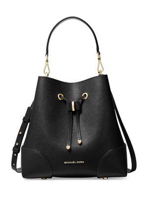 Mercer Gallery Leather Bucket Shoulder Bag