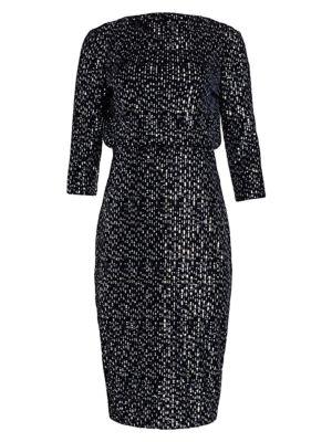 Velvet Sequin It Dress