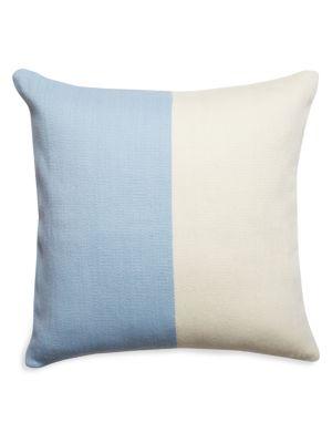 Pop Divide Hand-Woven Merino Wool Cushion