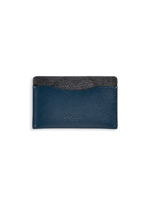 Small Coated Canvas Cardholder