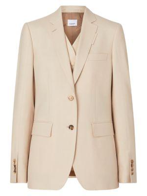 Mohair & Silk-Blend Integral Vest Jacket