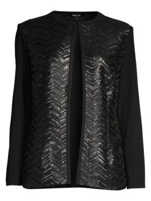 Heritage-Fit Sequin Jacket