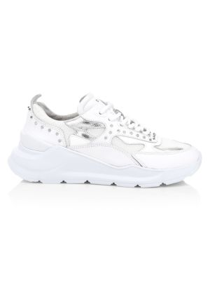 Fuga Studs Leather Chunky Sneakers