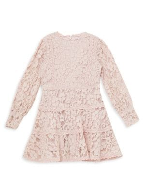 Girl's Aria Lace Dress