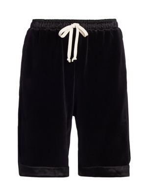 Oversized Drawstring Shorts