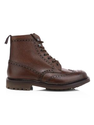 McFarlane Highland Grain Leather Boots