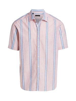 COLLECTION Bold Stripe Cotton Shirt