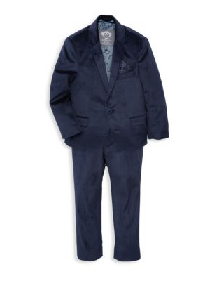 Boy's 2-Piece Velvet Suit