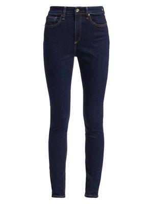 Nina High-Rise Skinny Jeans
