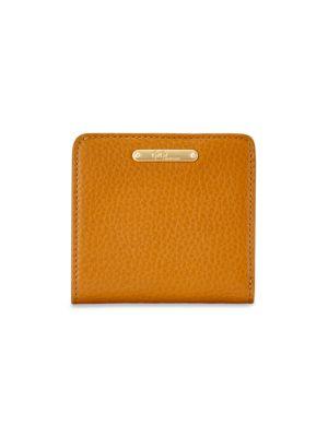 Mini Leather Bi-Fold Wallet