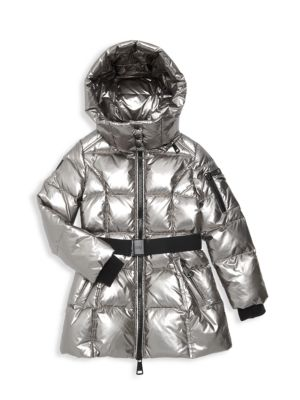 Girl's Soho Belted Down Puffer Jacket