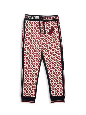 Little Boy's & Boy's Logo Cotton Sweatpants