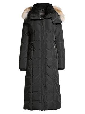 Jada Fur Trim Longline Parka