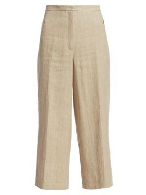 Filip Raw Linen Culottes