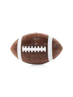 Football Pigskin Crystal Clutch