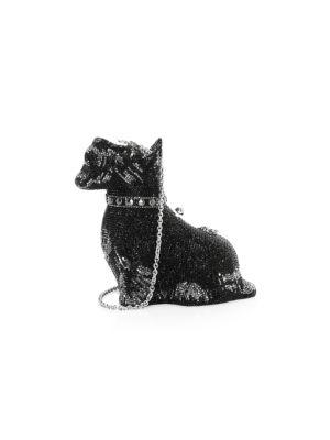 Scottie Dog Crystal Clutch
