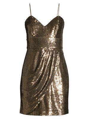 Guayana Metallic Mini Dress