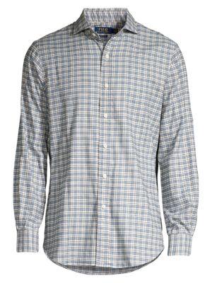 Classic Plaid Twill Shirt