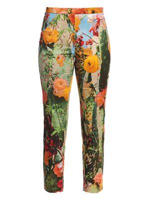 Franca Cactus Blossum Printed Pants