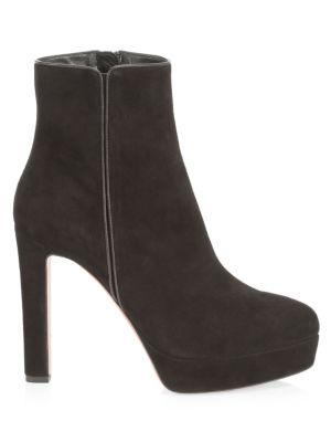 Quant Platform Suede Ankle Boots