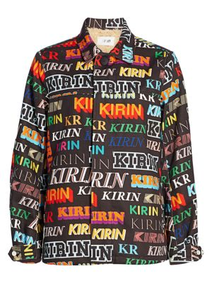 Kirin Typo Denim Field Jacket