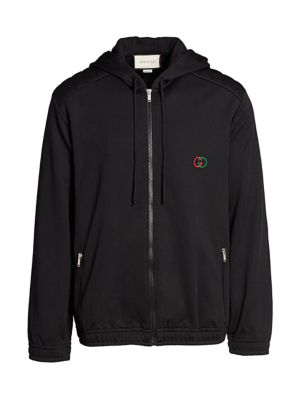 Oversize Technical Jersey Hoodie