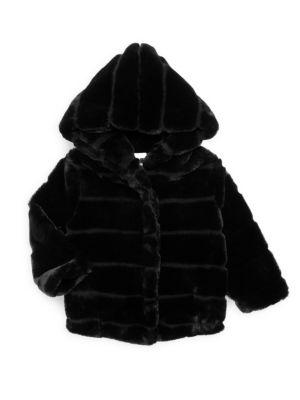 Little Girl's & Girl's Goldie Faux Fur Jacket