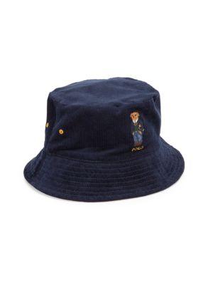 St. Andrew Kicker Bear Reversible Bucket Hat
