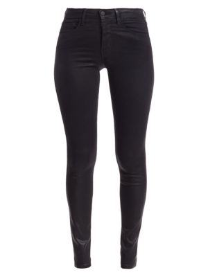 Marguerite High-Rise Skinny Coated Jeans