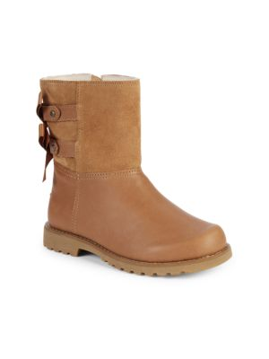 Baby's, Little Girl's & Girl's Tara Leather & Suede Boots