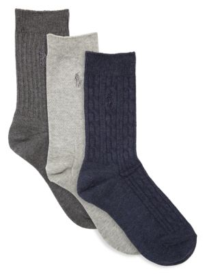 Six-Pack Classic Texture Socks