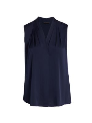 Mila Plus Size Sleeveless Blouse
